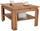 Couchtisch Nizza 1 - Eichefarben, MODERN, Holzwerkstoff (70/45/70cm)