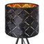 Stolová Lampa Evelyn V: 35cm, 40 Watt - čierna, Štýlový, kov (17/35cm) - Modern Living