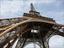 Keilrahmenbild Eiffelturm - Multicolor, Holz/Holzwerkstoff (84/116cm)
