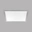 LED-Paneel Salobrena 2 - Alufarben/Weiß, MODERN, Kunststoff/Metall (45/45/1,1cm)