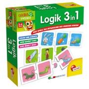 Lernspiel Logik 3in1 - Multicolor, Karton (18/18/6cm)
