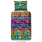 Graffity 140/200cm Multicolor Graffiti - Multicolor, Basics, Textil