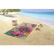 Strandtuch Maelli - Multicolor, Basics, Textil (100/180cm)