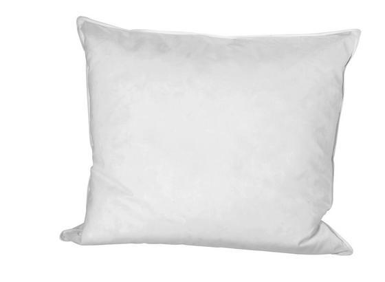 Kopfpolster Flo - Weiß, KONVENTIONELL, Naturmaterialien/Textil (70/90cm) - Primatex