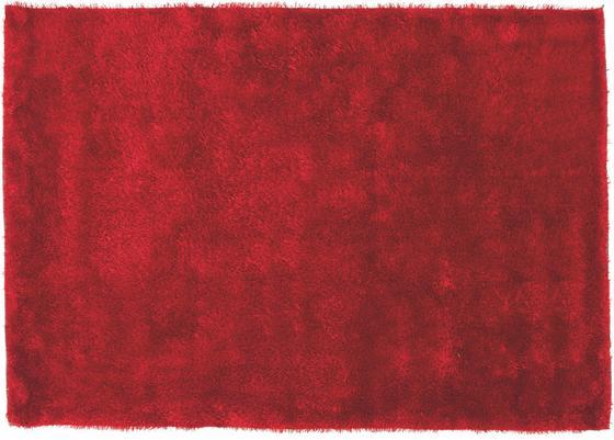 Hochflorteppich Amy 160x230 cm - Rot, KONVENTIONELL, Textil (160/230cm) - Luca Bessoni