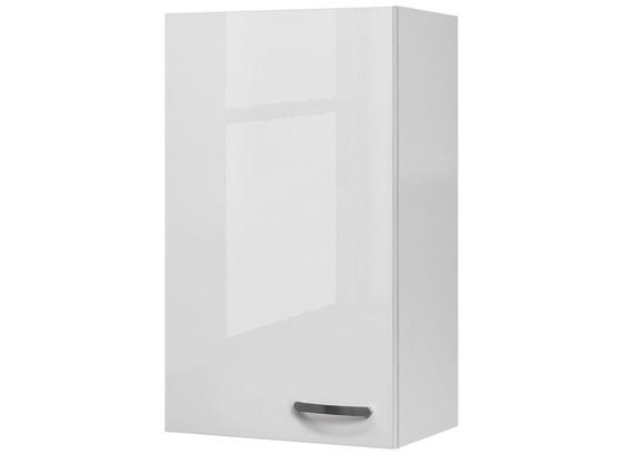 Kuchyňská Horní Skříňka Alba  H 50-89 - bílá, Moderní, kompozitní dřevo (50/89/32cm)