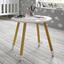 Detský Stôl Leni - biela/farby pínie, Moderný, drevo (55,9/49,5cm) - Modern Living
