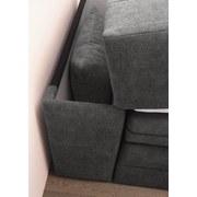 Boxspringbett mit Bettkasten& Topper 140x200cm Bilbao, Grau - Schwarz/Grau, KONVENTIONELL, Holzwerkstoff/Textil (140/200cm) - Carryhome