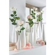 Váza Plancio - biela, Moderný, keramika (27cm) - Mömax modern living