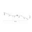 Led Svítidlo Cenový Trhák - barvy niklu, Konvenční, kov (60cm) - Based