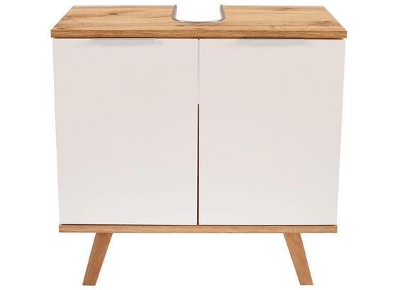 Spodní Skřiňka Turin - bílá, Moderní, kompozitní dřevo (60/60/30cm)