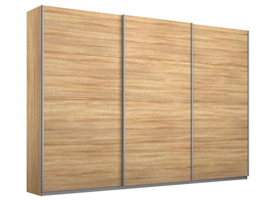 Schwebetürenschrank 271cm Belluno, Sonoma Eiche Dekor - Sonoma Eiche, MODERN, Holzwerkstoff (271/210/62cm)