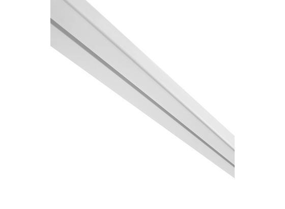 Kolejnička Na Závěsy Amelie - bílá, umělá hmota (120/4.8/1.7cm) - Mömax modern living