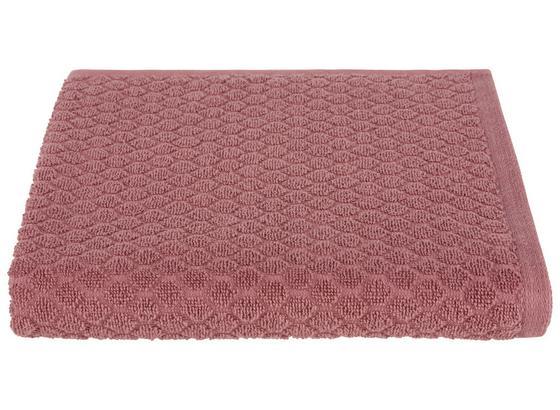 Duschtuch Elena - Rosa, MODERN, Textil (70/140cm) - Luca Bessoni