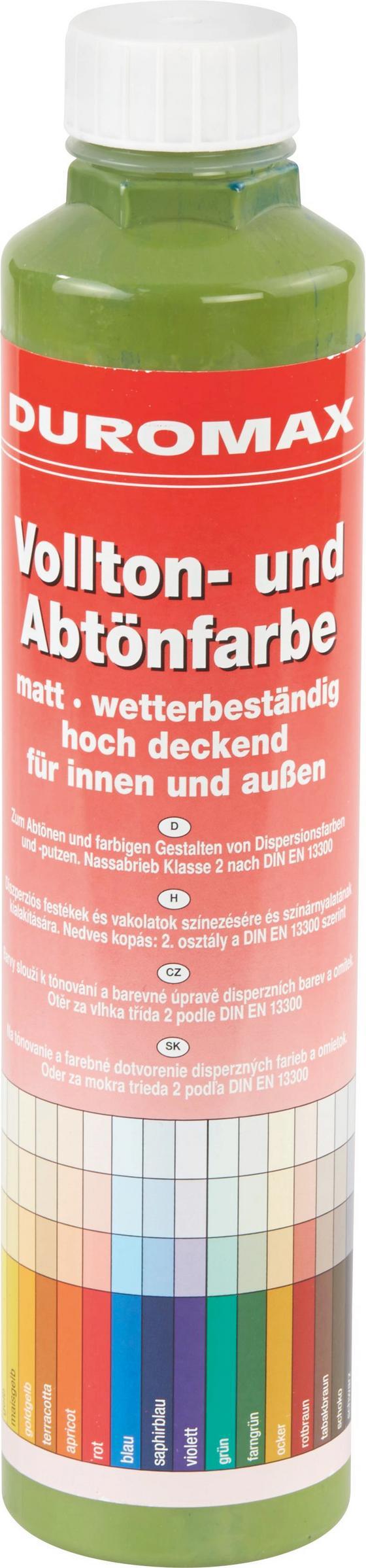Abtönfarbe Farngrün Matt - KONVENTIONELL (0,75l)