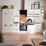 Küchenkombination Luisa - Weiß, MODERN, Holzwerkstoff (310cm)