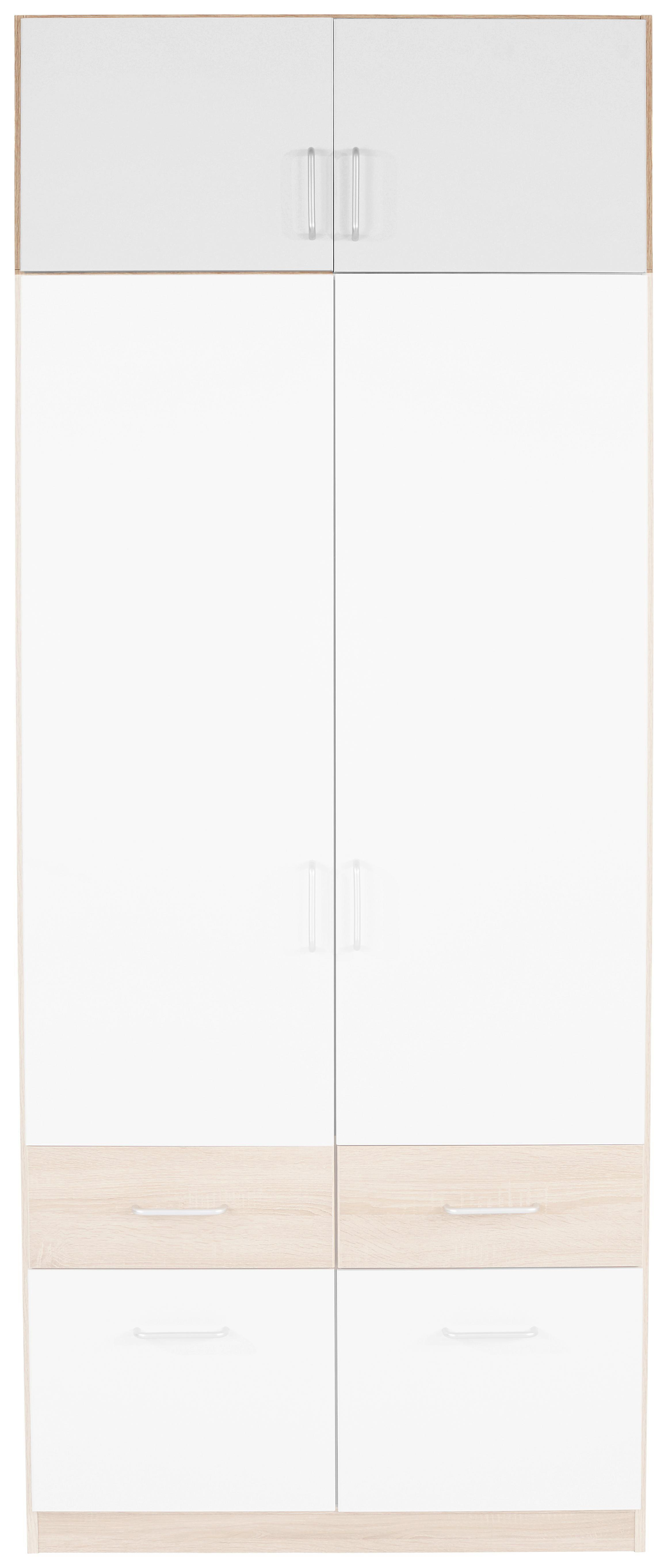 Szekrényrátét Aalen Extra - fehér, konvencionális, faanyagok (91/39/54cm)
