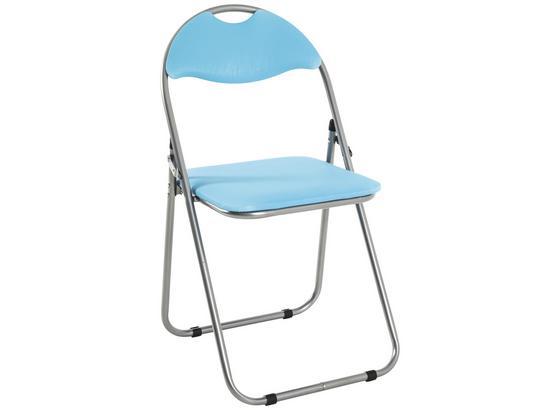 Skládací Židle Shake - modrá, Moderní, kov/umělá hmota (44/80/47cm)