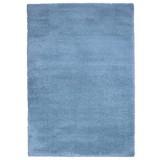 Hochflorteppich Nobel Micro 160/230 - Blau, MODERN, Textil (160/230cm)