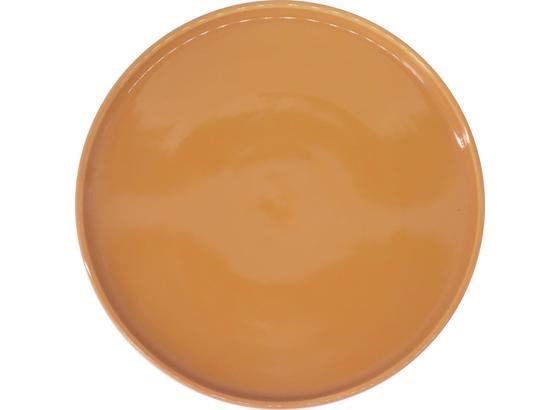 Dezertný Tanier Merit - žltá, Moderný, keramika (20,8cm) - Premium Living