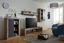 Obývacia Stena Jao - borovicová/sivá, Moderný, umelá hmota/kov (298-318/196/41cm) - Modern Living