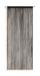Fadenstore Marietta - Schwarz, KONVENTIONELL, Textil (90/245cm) - Ombra