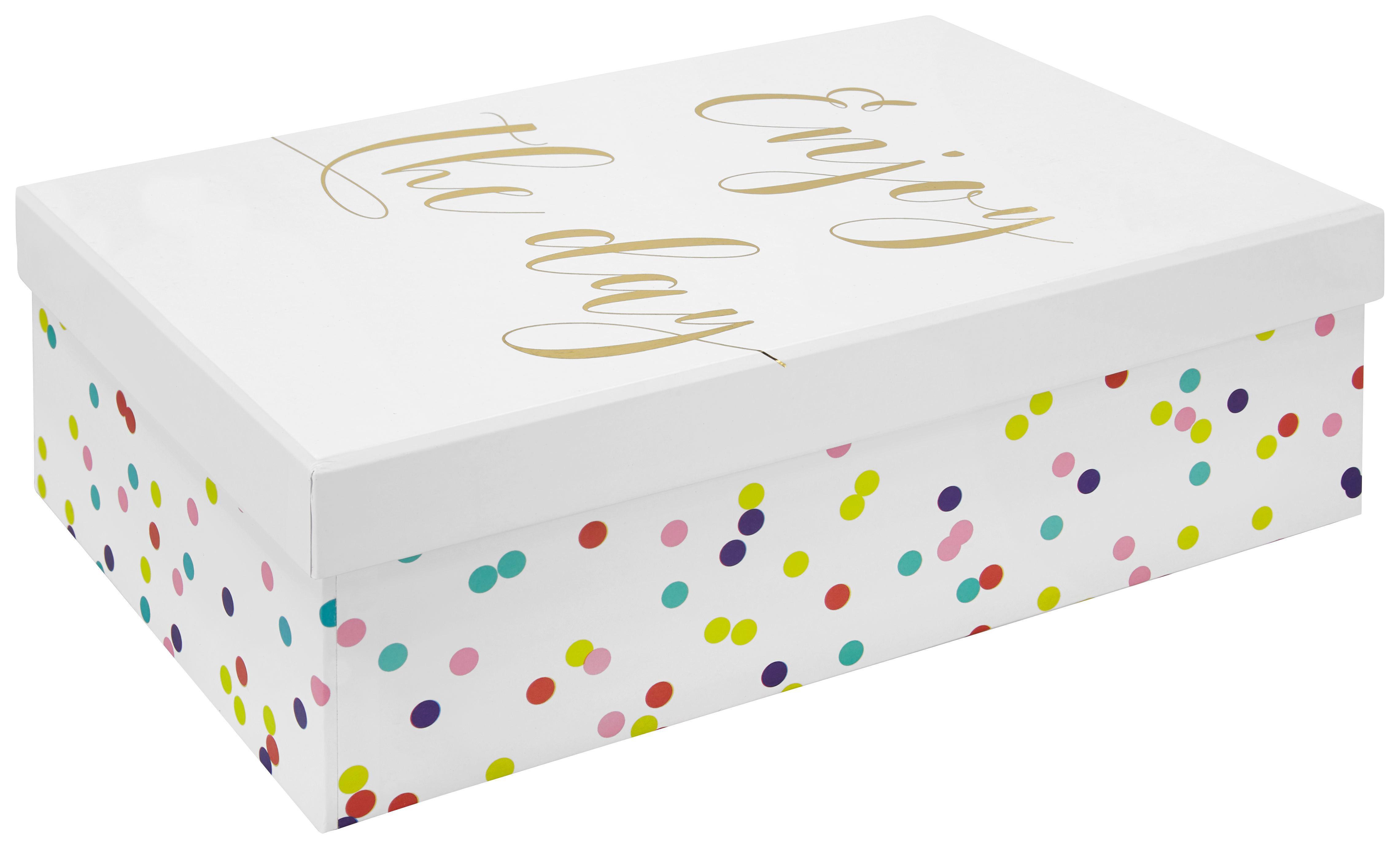 Dárkový Box Dreams - bílá, karton (28/9/18cm) - MÖMAX modern living