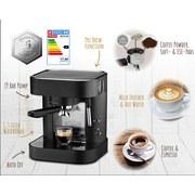 Kaffeepadmaschine Espresso Perfetto Schwarz - Schwarz, Basics, Metall (26/25,5/30cm)