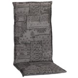 Niederlehner Auflage Genf 100x48 cm Grau - Grau, Basics, Textil (100/48/4cm)