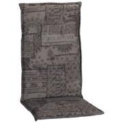 Sesselauflage Genf Hochlehner M127 - Grau, Basics, Textil (120/48/5cm)