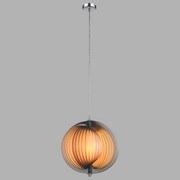 Hängeleuchte Ø 36 cm - Chromfarben, MODERN, Kunststoff/Metall (36/120cm)