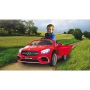 Kinderauto Ride-On Mercedes-Amg Sl 65 Rot - Rot/Silberfarben, Basics, Kunststoff (119,5/75/42cm)
