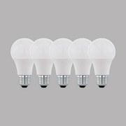 LED-Leuchtmittel 5er Pack E27, 806lm - Weiß, MODERN, Kunststoff (6/11cm)