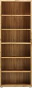 Regál Line4 - barvy dubu, Moderní, kompozitní dřevo (80/218/36cm)