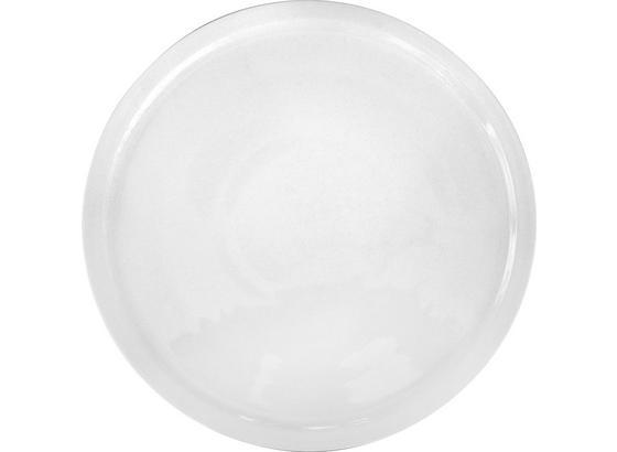 Pizzateller Cammi - Weiß, KONVENTIONELL, Keramik (30cm) - Ombra