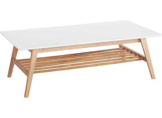 Konferenční Stolek Durham - bílá/barvy dubu, dřevo/kompozitní dřevo (130/43/70cm) - Mömax modern living