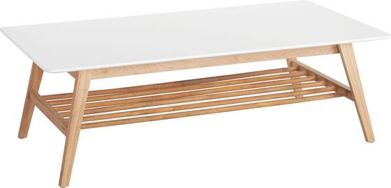 Konferenčný Stolík Durham - farby dubu/biela, drevo/kompozitné drevo (130/43/70cm) - Mömax modern living