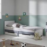 Postel Pro Děti I Mládež Brian - bílá, Moderní, dřevo/dřevěný materiál (96/80/203cm) - Mömax modern living