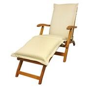 Liegenauflage Premium B: 50 cm Beige - Beige, Basics, Textil (50/8-9/190cm) - Ambia Garden