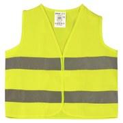 Warnweste für Kinder - Gelb, Kunststoff (18/22/27cm)