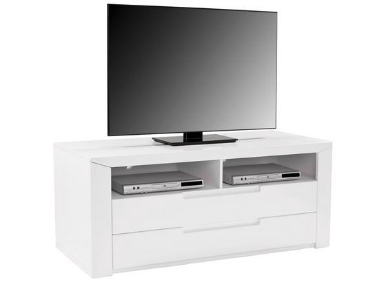 Tv Diel Bree - biela, Moderný, kompozitné drevo (139,8/55,5/49,2cm)