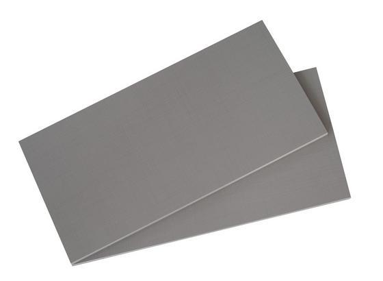 Einlegeboden Level 36a 2er-Set 96cm - Grau, MODERN, Holzwerkstoff (96/2/50cm)