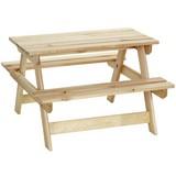 Kindersitzgruppe Holz Olaf L: 85 cm - MODERN, Holz (85/75/53cm) - James Wood