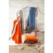 Wohndecke Hani - Hellgrau, MODERN, Textil (150/200cm)