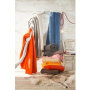 Wohndecke Hani - Orange, MODERN, Textil (150/200cm)