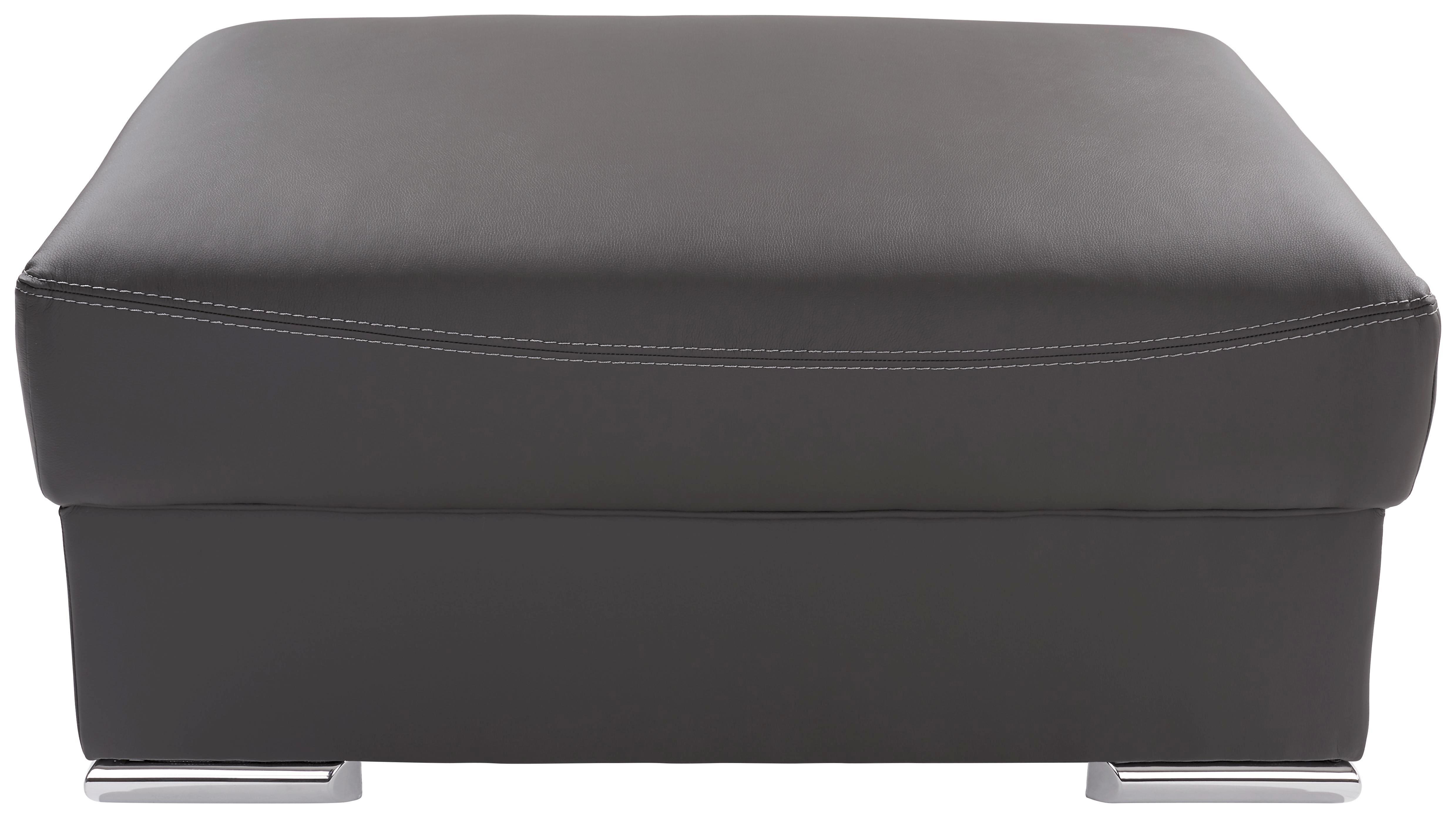 Ülőke Cuba - szürke, modern, textil (100/45/65cm)