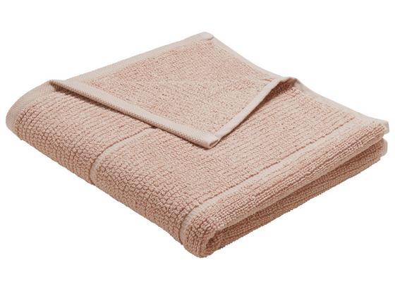 Ručník Anna - starorůžová, textilie (50/100cm) - Mömax modern living