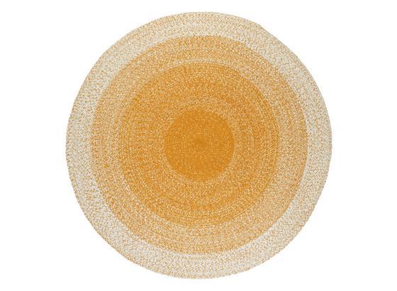 Koberec Tkaný Na Plocho Marie - žlutá, Basics, textil (160cm) - Mömax modern living