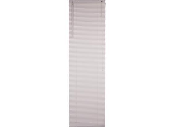 Jalousie Astrid - Weiß, KONVENTIONELL, Kunststoff/Metall (60/220cm) - Ombra