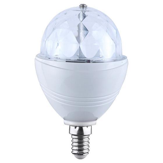 LED-dekoleuchtmittel Disco - Klar/Weiß, KONVENTIONELL, Kunststoff (8/8/15cm)